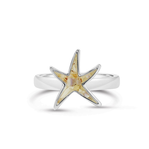 Delicate Starfish Shaped Ring