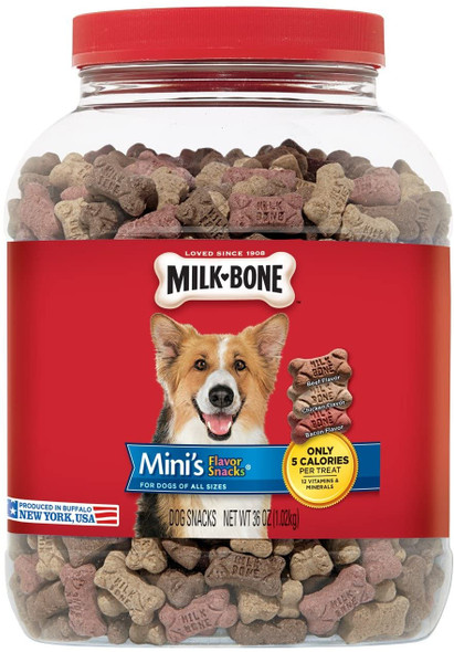 Milk-Bone Flavor Snacks Dog Treats for Dogs