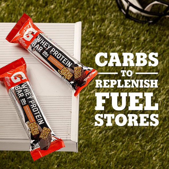 Gatorade Whey Protein Recover Bars, Peanut Butter Chocolate
