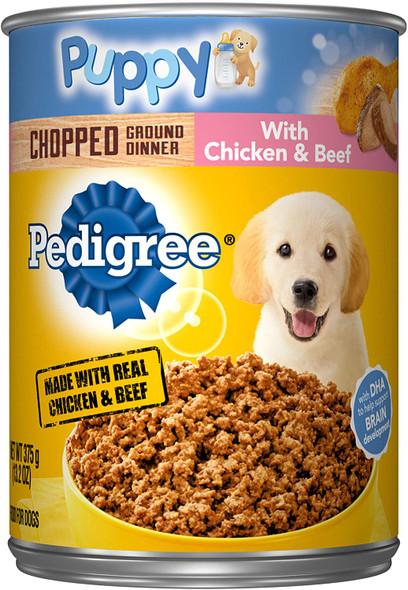 Pedigree Puppy Ground Dinner Wet Canned Dog Food