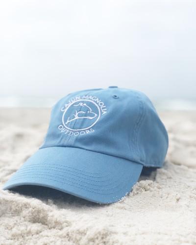 CMO Original Columbia Blue Canvas Hat