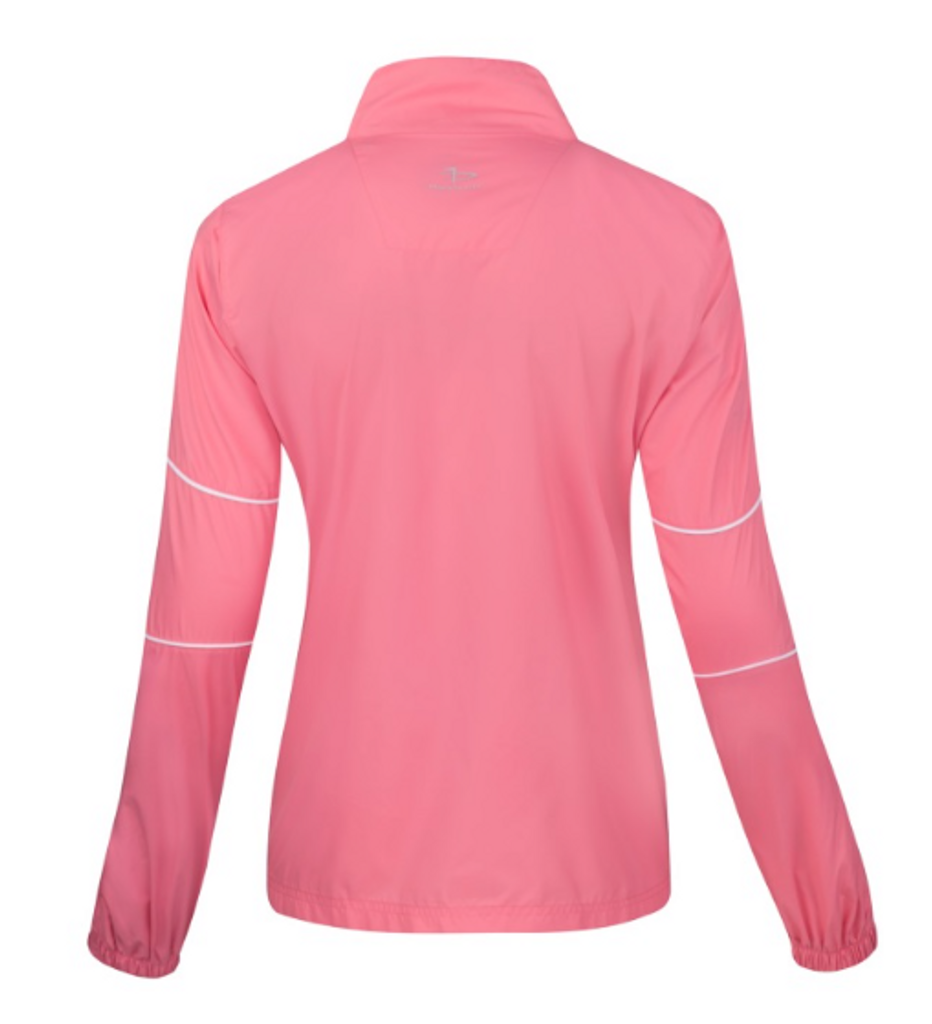 Page & Tuttle® Ladies' Piped Full-Zip Long Sleeve Windshirt