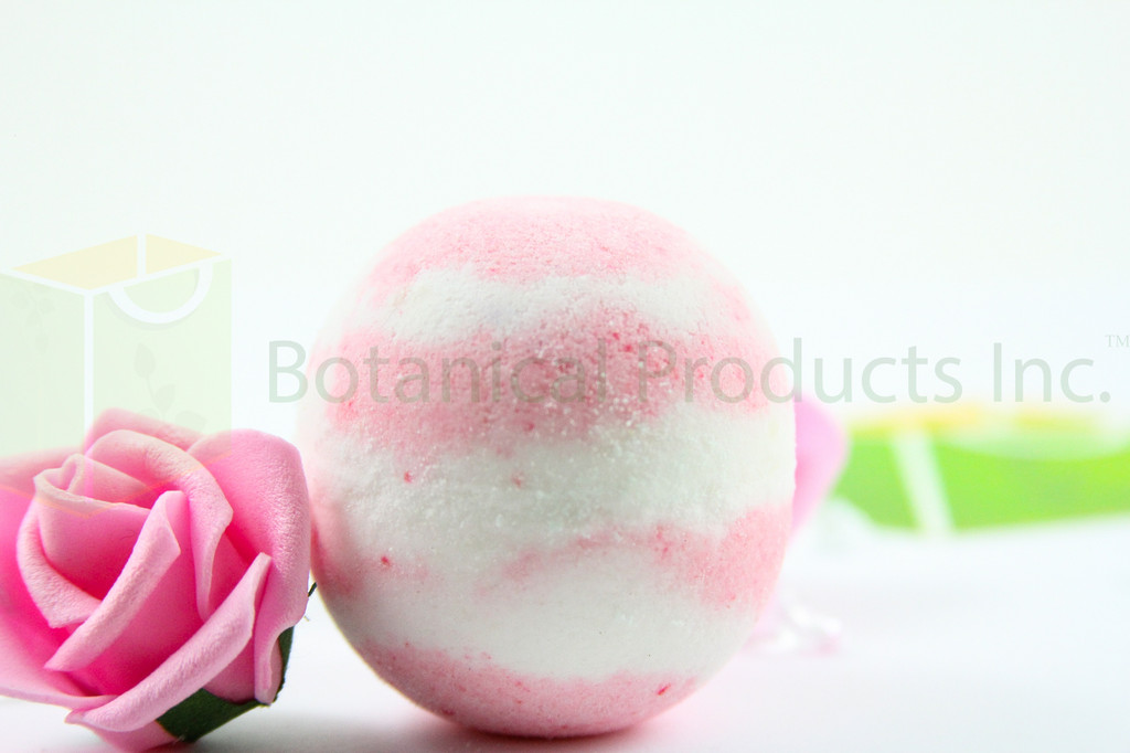 Botanical Products Inc. Blissful Serenity Bath Bomb. Fragrant, colourful and intimately soothing to your whole body.