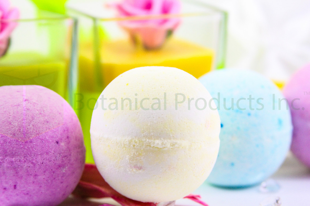 Botanical Products Inc. Ylang Ylang Bath Bomb. Fragrant, colourful and intimately soothing to your whole body.