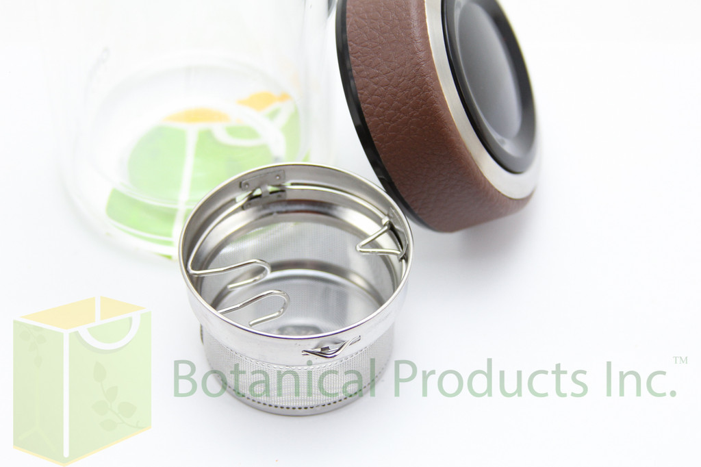 The compact Botanical Products Inc. Tea Infuser has arrived! Enjoy our fresh organic teas anytime, anywhere.The compact Botanical Products Inc. Tea Infuser has arrived! Enjoy our fresh organic teas anytime, anywhere.