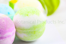 Botanical Products Inc. Summer Alps Bath Bomb. Fragrant, colourful and intimately soothing to your whole body.
