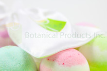 Botanical Products Inc. Sweet Slumber Organic Bath Bomb. Fragrant, colourful and intimately soothing to your whole body.
