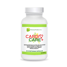 CARDIO CARE PLUS is a treasure for your heart and cardiovascular system, exclusively from Botanical Products Inc. With Botanical Products Inc. CARDIO CARE PLUS, here are some of the 'cardio-advantages' we are excited to offer our amazing clients:     Helps to maintain proper muscle function, including the heart muscle. Provides antioxidants. Used in Herbal Medicine to aid digestion. Source of selenium, to support biological functions which play a key role in the maintenance of good health. Helps to prevent vitamin D deficiency. Helps to form red blood cells. Helps to prevent vitamin K deficiency. Helps in connective tissue formation.