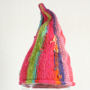 Hot Pink Kids 4yr- XS adult Pixie Gnome Hat