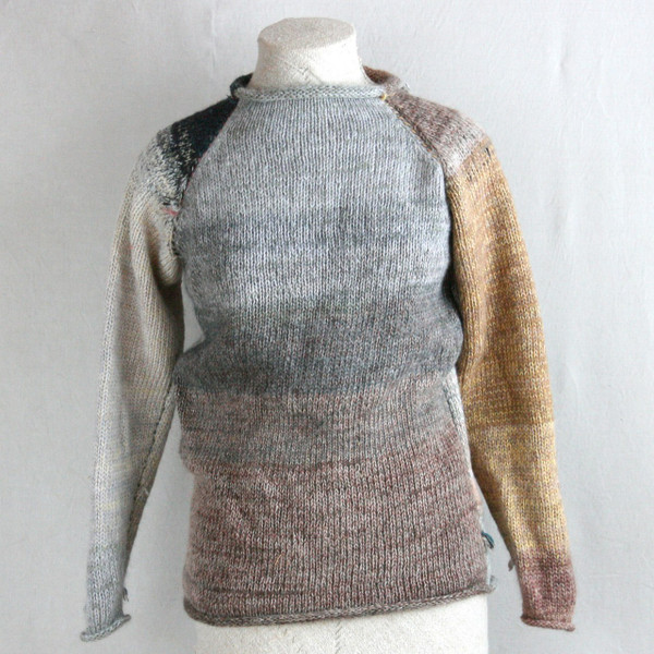 Catalonia Road raglan pullover sweater XS/S Wrapture by Inese