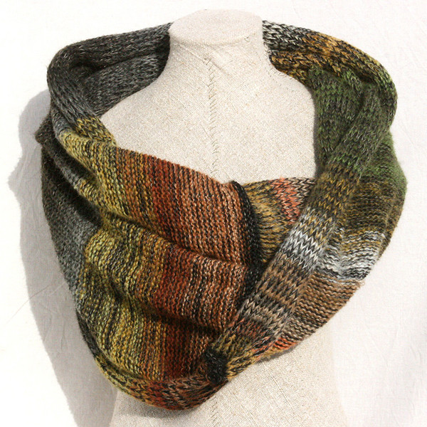 autumn branch shawl wrap