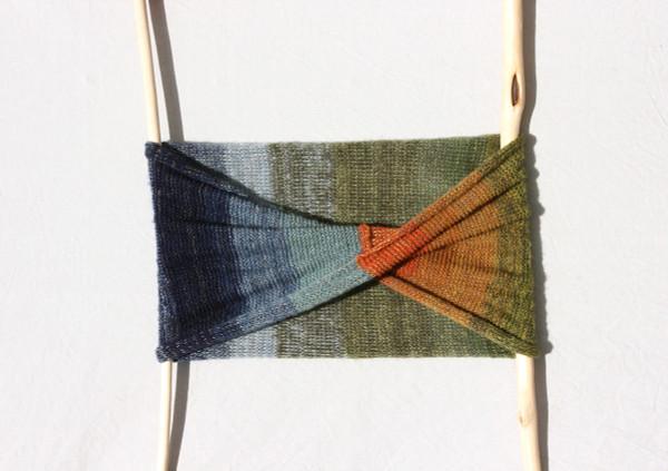 Kemeri loop scarf - kid mohair, silk Wrapture by Inese