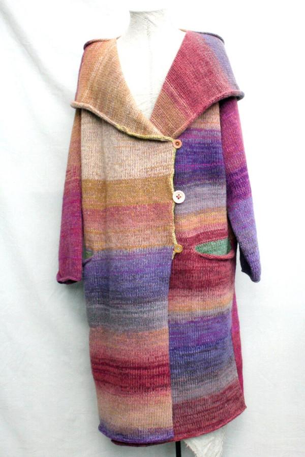 Bitene felted wool coat
