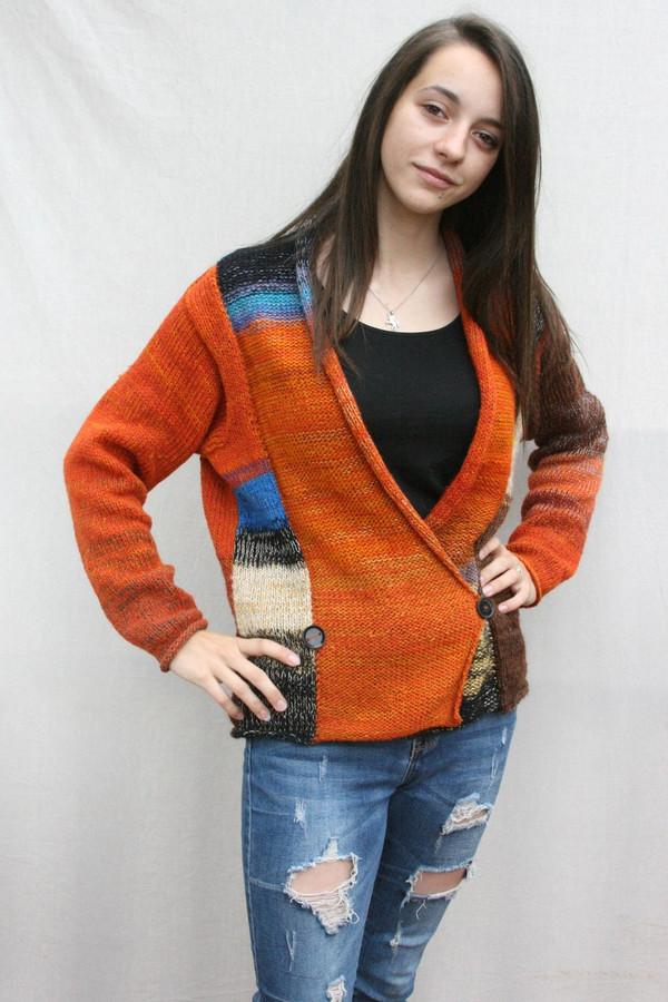 Butterfly Symphony Sweater Wrapture by Inese