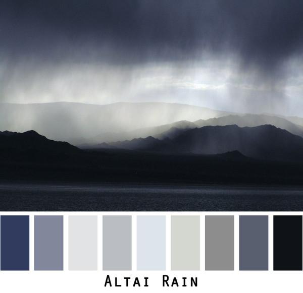 Altai Rain photograph by Inese Īris Liepiņa