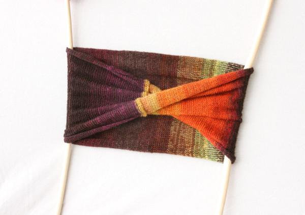 Brown Eyed Susan loop scarf - kid mohair, silk Wrapture by Inese