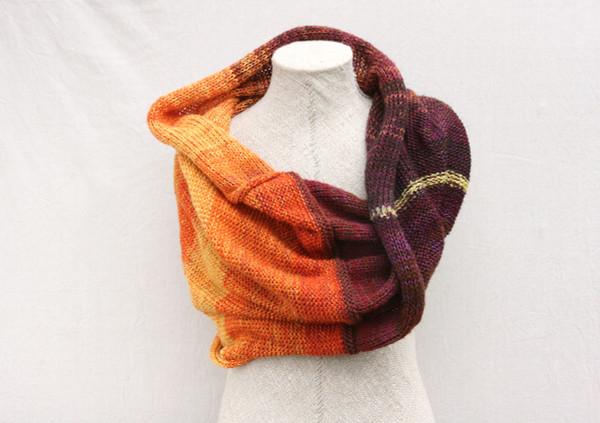 Brown Eyed Susan shawl wrap - cotton, kid mohair, silk Wrapture by Inese