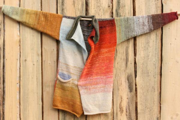 Sunlight Liene Sweater Coat Wrapture by Inese