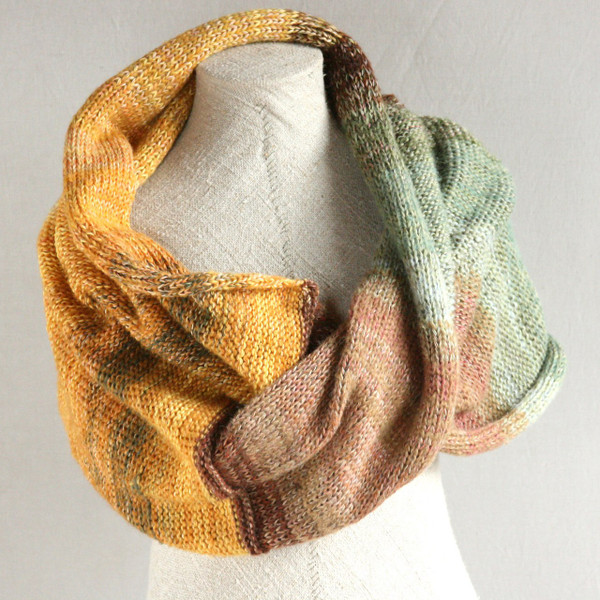 Ancient Woods cotton mohair silk shawl wrap Wrapture by Inese