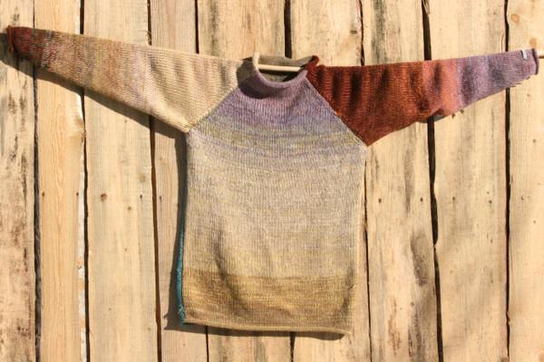 Fragments raglan pullover sweater