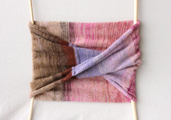 Hydrangea Shawl Wrap