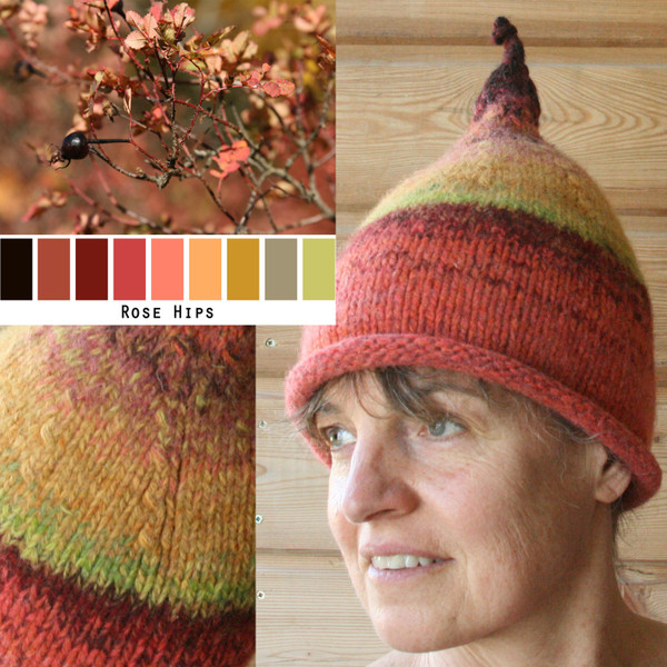 Felted Sauna Hat DIY knitting seminar in the heart of Latvia taught by Wrapture by Inese