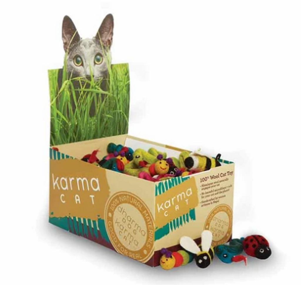 Dharma Dog Karma Cat Toy - Bugs $6.95