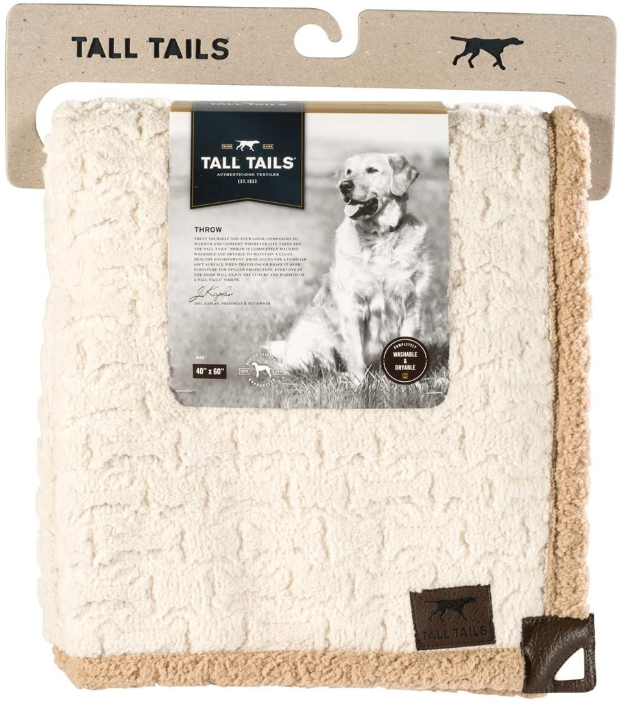 Tall Tails Sherpa Blanket