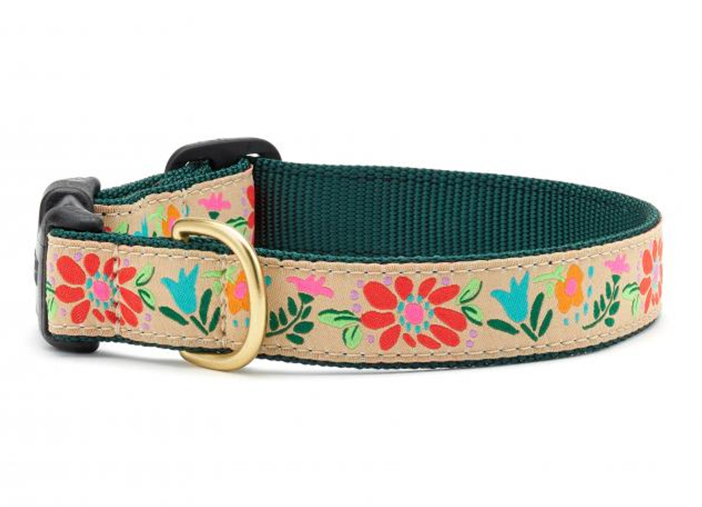 Up Country Tapestry Floral Collar