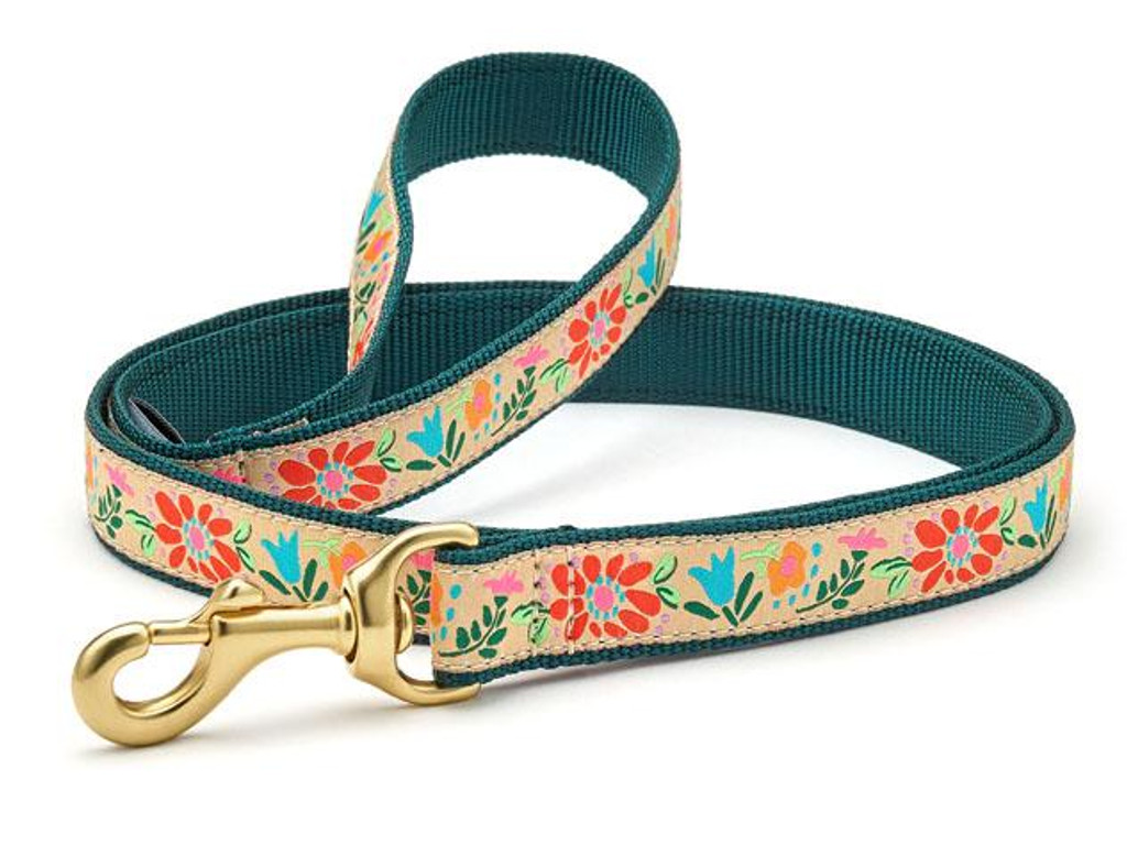 Up Country Tapestry Floral Leash