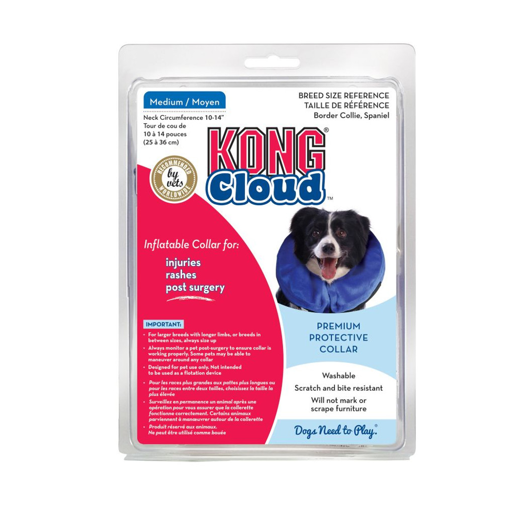Kong Cloud Inflatable Collar - MED