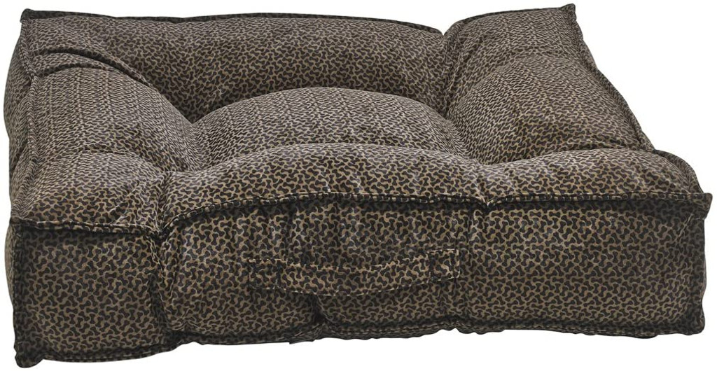 Bowsers Piazza Chocolate Bones Bed - MED