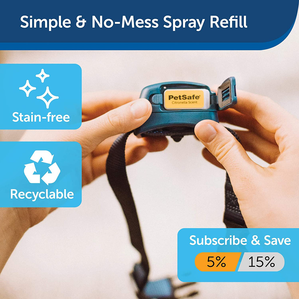PetSafe Rechargeable Spray Bark Collar