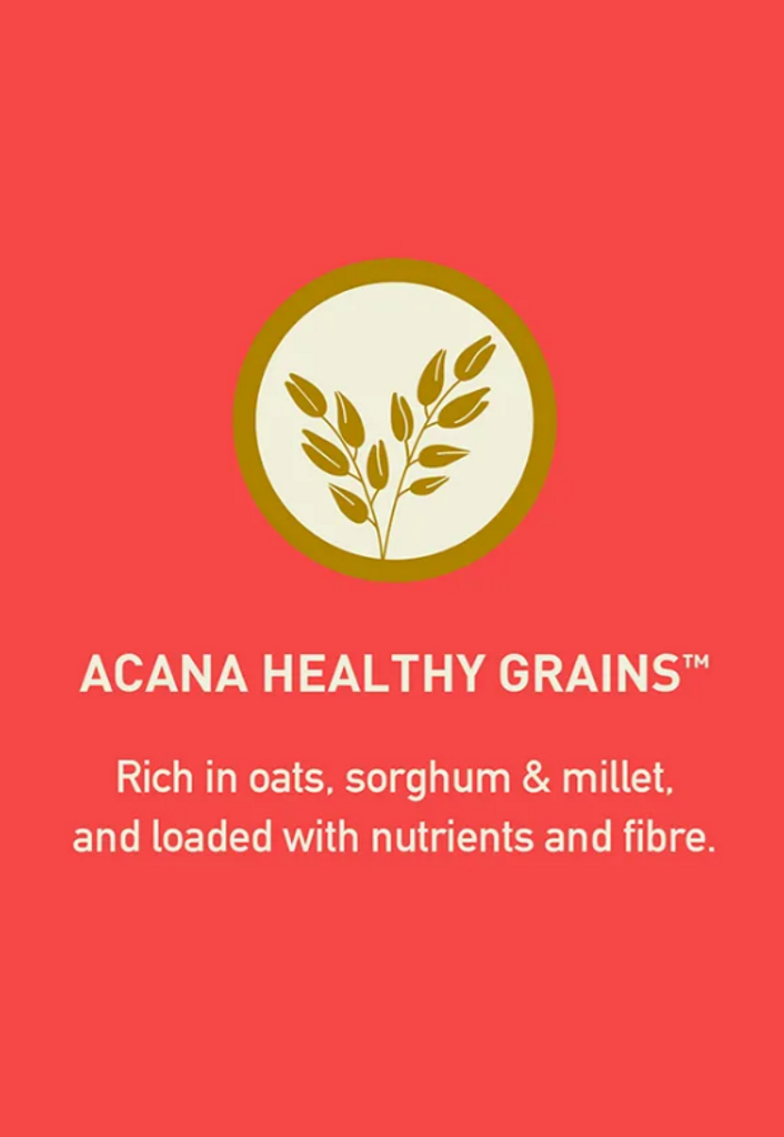 ACANA Healthy Grains Ranch-Raised Red Meat