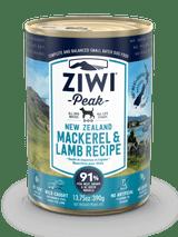 Ziwi Peak Dog Can Mackerel & Lamb 13oz.