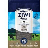 ZIWI® Peak Air-Dried Beef Recipe For Dogs PEAK NUTRITION FOR ALL LIFE STAGES Raised simply, with access to fresh grass 365 days a year, New Zealand grass-fed and free-range beef has a reputation of being the best in the world. Just as our beef is raised, our recipe is simple too. Few ingredients but full of flavour, the perfect choice for dogs of all breeds and life stages.