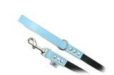 "Buddy Belt Leash Blue - 6'x1/2"""