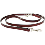 "Auburn Leather Multi Leash 3/4"" x 72"""