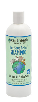 Earthbath Hot Spot Relief Shampoo / Tea Tree & Aloe