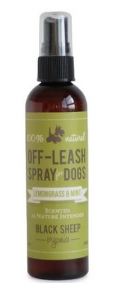 Black Sheep Lemongrass & Mint Organic Bug Spray 4oz