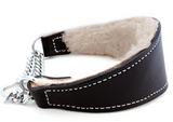Auburn Leather Martingale Shearling