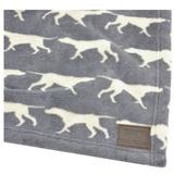 Tall Tails Print Fleece Blanket