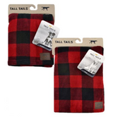 "Tall Tails Hunter Plaid Blanket 30"" x 40"""