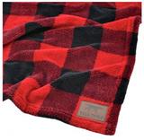"""Tall Tails Hunter Plaid Blanket 30"""" x 40"""""""