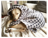 Tall Tails Fleece Blanket - Houndstooth