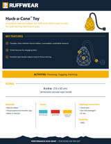 Ruffwear Huck-a-Cone Toy