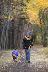 RuffWear Quinzee Jacket - Huckleberry Blue