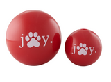 Planet Dog Holiday JOY Ball Red
