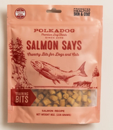 Polka Dog Salmon Training Bits