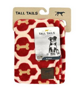"Tall Tails Red Bone Blanket 30"" x 40"""